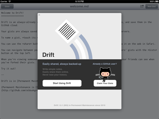The Drift Editor